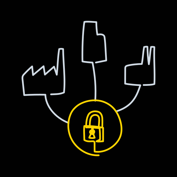 Trusted Data Hub Symbol image